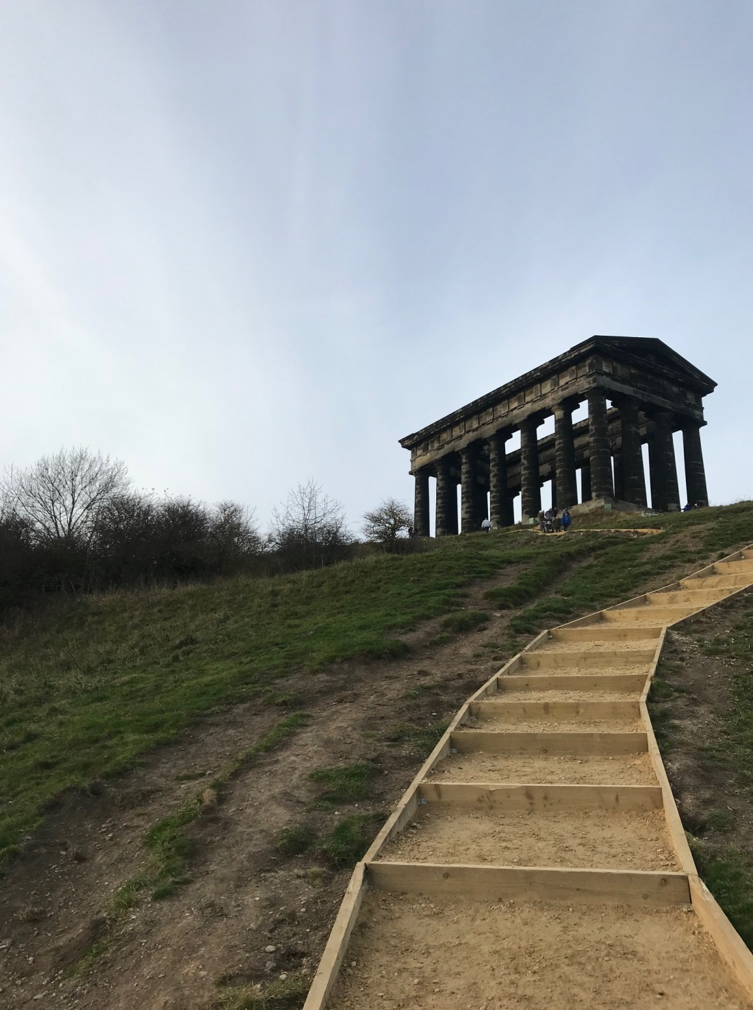 Penshaw Monument Steps